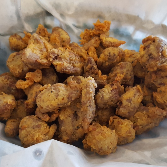 Fried Chicken Gizzards