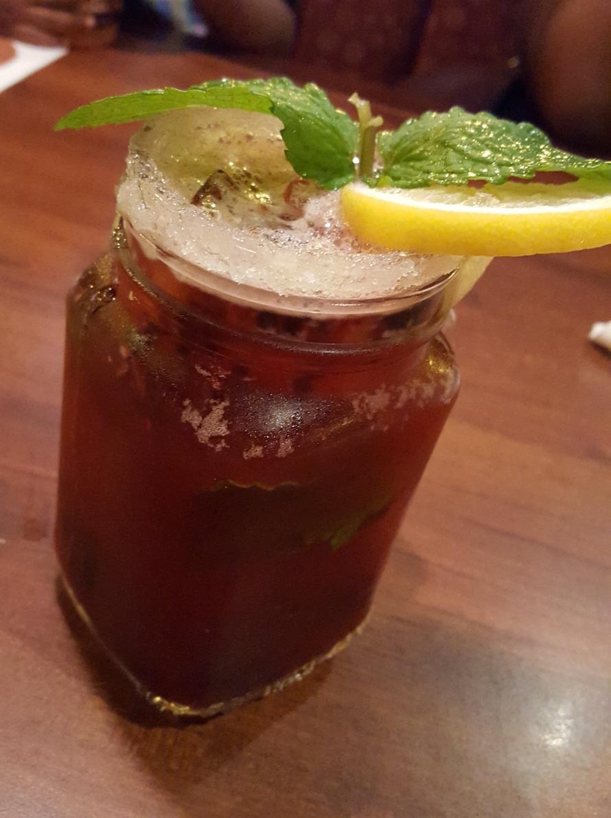 shirleys- blackberry ice tea