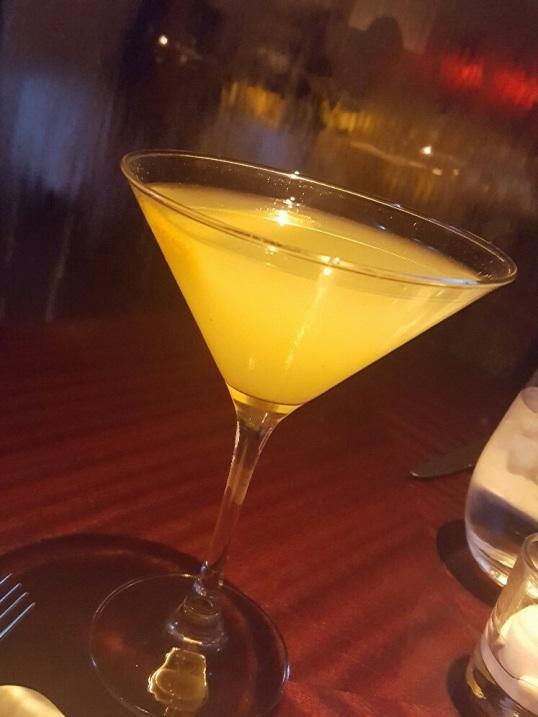 Joy- Smirnoff orange, riesling, kiwi