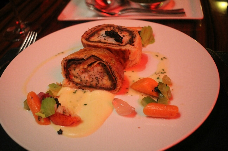 GR- lobster wellington