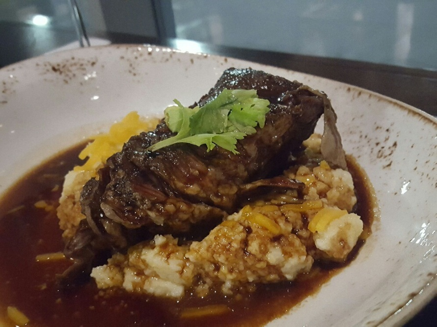 cedar- beef and grits